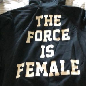Nike The Force is Female Hoodie